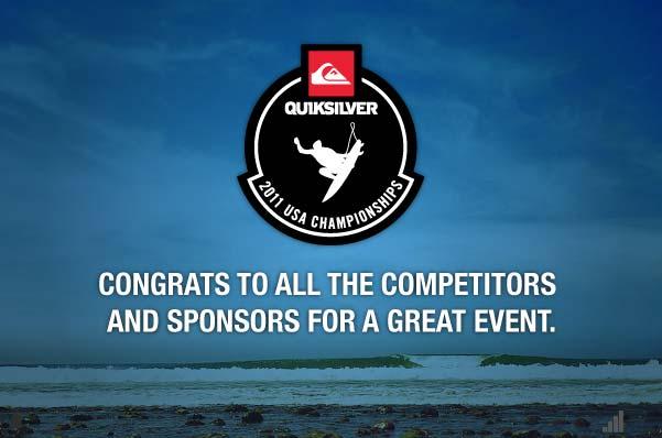 Quiksilver 2011 USA Surf Championships   SURFLINE COM
